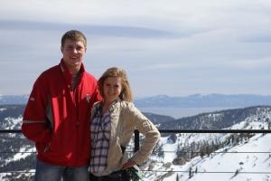 At the top of Squaw Valley
