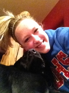 She loves me :)