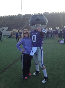Me and Willie the Wildcat! :)